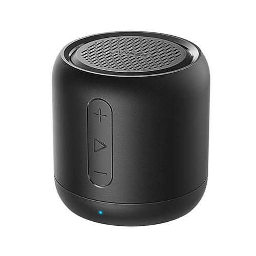 Anker SoundCore mini, Super-Portable Bluetooth Speaker with 15-Hour Playtime, 66-Foot Bluetooth Range & Enhanced Bass Microphone China / Black