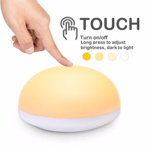 Bread shaped Touch brightness controlled Anti-fall LED Night Lamp-Decorative Night Lamp-[variant_title]-Khadiza Electricals