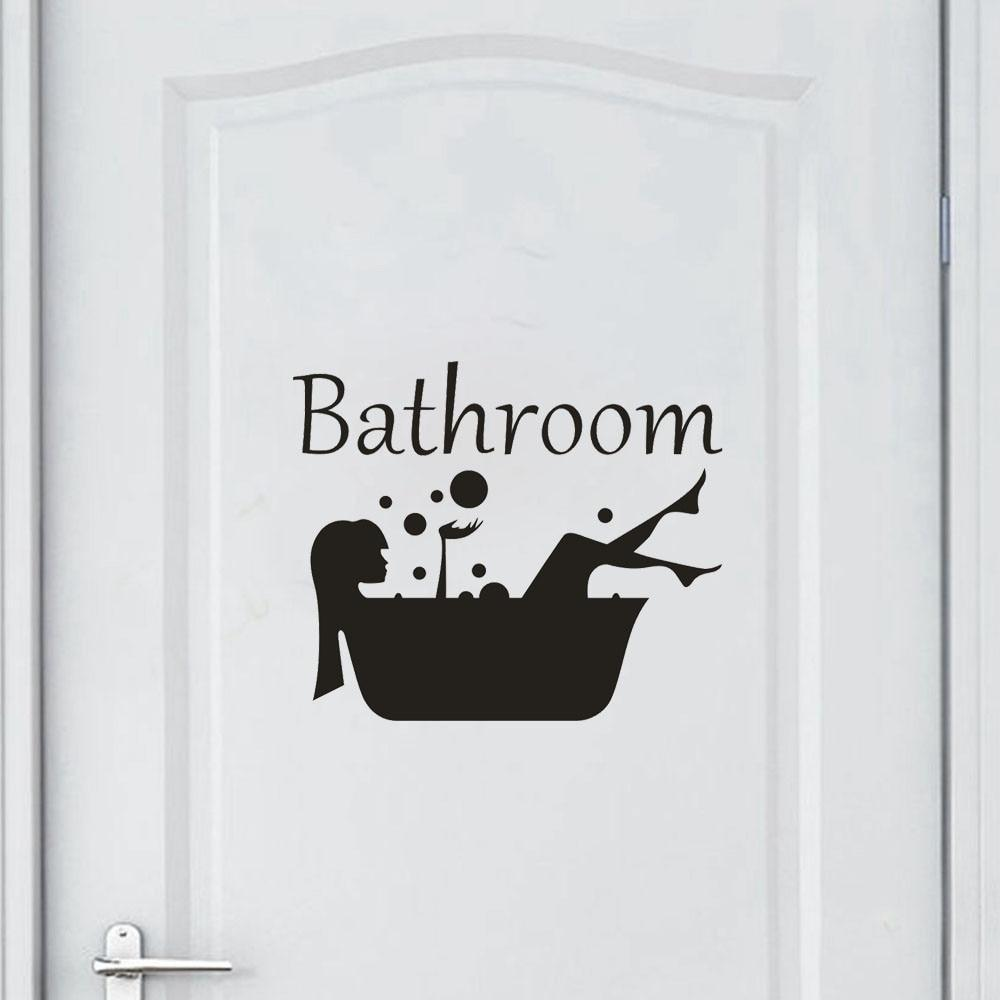 Removable Bathroom Wall Sticker China