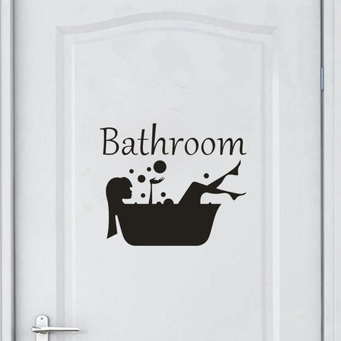 Removable Bathroom Wall Sticker-Non Electric Home Decor-[variant_title]-Khadiza Electricals