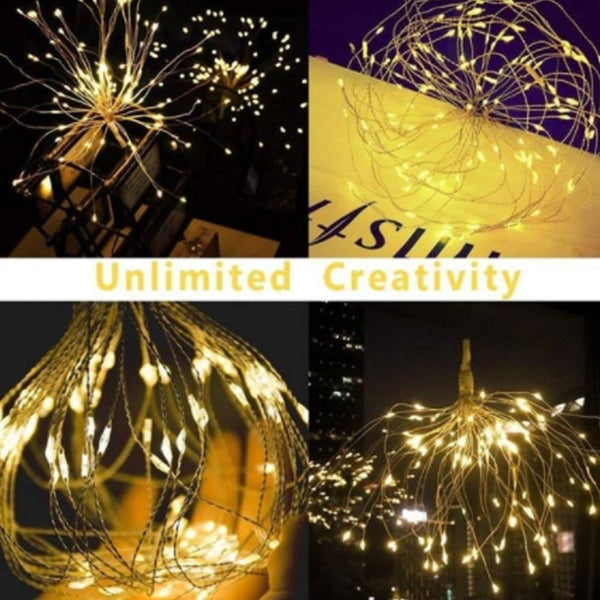 Starburst String light With Remote control-Decorative String Light-[variant_title]-Khadiza Electricals