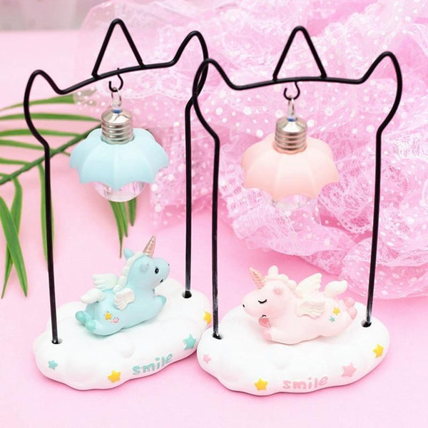 Unicorn Resin LED Night Light-Decorative Night Lamp-[variant_title]-Khadiza Electricals