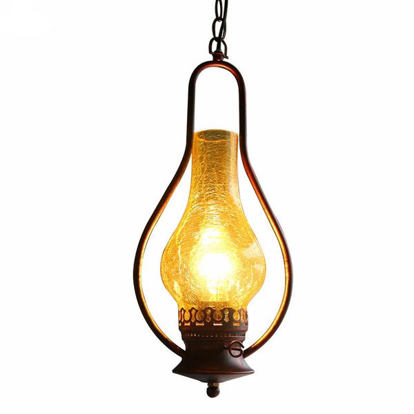 Vintage Kerosene Pendant Lamp made of Iron(Bulb Excluded)