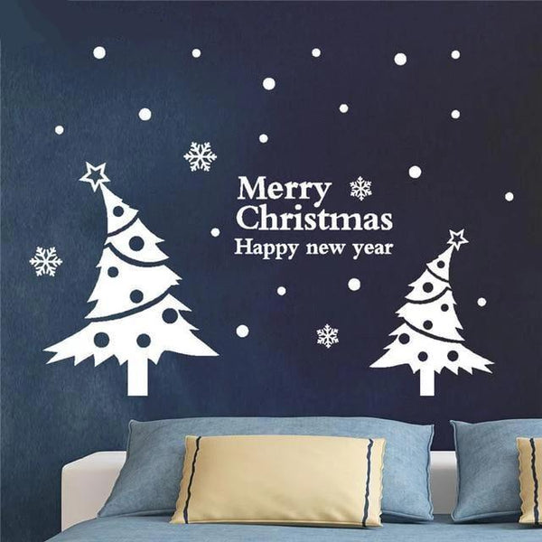 Wall Stickers for Christmas Decoration-Non Electric Home Decor-YJL80910774WH / China-Khadiza Electricals