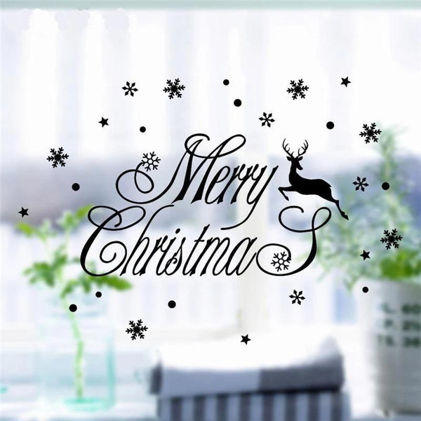 Wall Stickers for Christmas Decoration-Non Electric Home Decor-[variant_title]-Khadiza Electricals