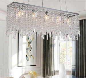Modern Luxury LED Crystal Chandelier Light