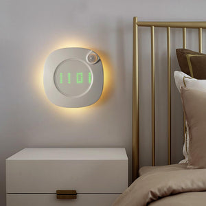LED Clock Night Lamp With Infrared, Gravity Sensor