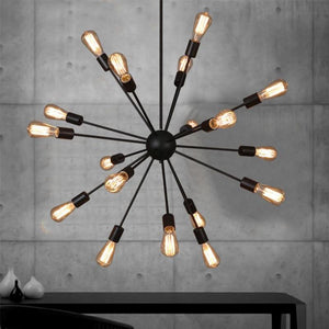 Vintage Retro Led Pendant Lamp