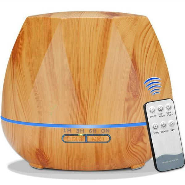 LED Aroma Diffusor (500ML, Remote Controlled)-Other Electrical Products-Remote Control Y / China / AU-Khadiza Electricals