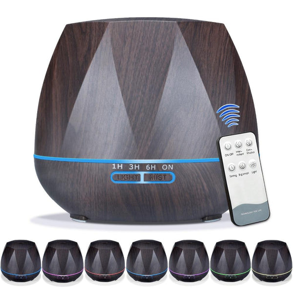 LED Aroma Diffusor (500ML, Remote Controlled)-Other Electrical Products-[variant_title]-Khadiza Electricals