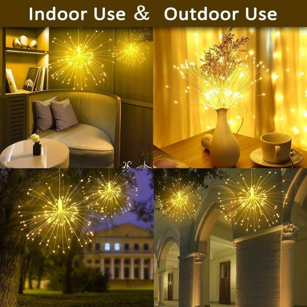Starburst LED Light with Remote Control-Decorative String Light-[variant_title]-Khadiza Electricals