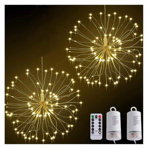 Starburst LED Light with Remote Control-Decorative String Light-Style - 0-Khadiza Electricals