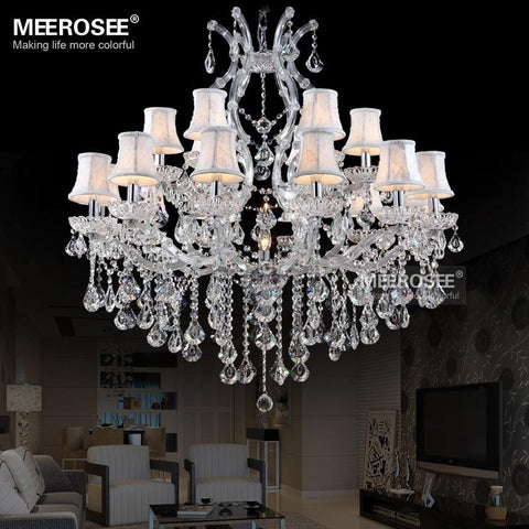 Modern Lustre Led Crystal Chandelier