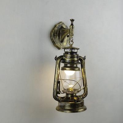 Vintage Retro Iron Hurricane Pendant Lamp-Decorative Pendant Lamp-wall lamp coopor-Khadiza Electricals