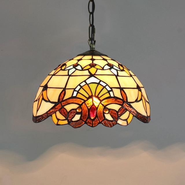 Creative Tiffany Stained Glass Pendant Lamp