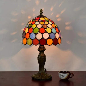 Tiffany Stylish Stained Glass Table Lamps Default title 0