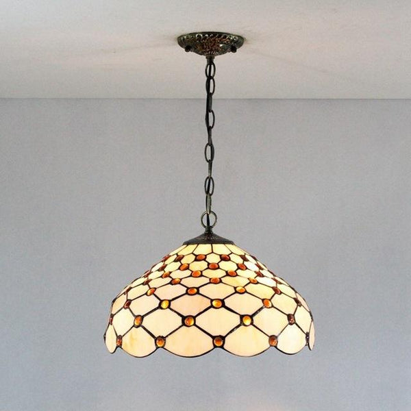 Tiffany Stained Glass Pendant Light