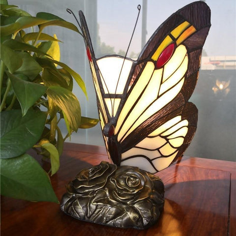 Butterfly Stained Glass Night Lamp Default title 0
