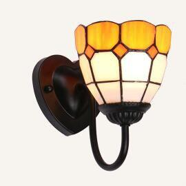 Colorful Stained Glass Wall light
