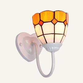 Colorful Stained Glass Wall light Black / Warm White (2700-3500K)