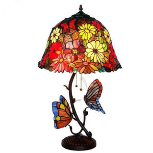 Butterfly Stained Glass Table Lamp table lamp