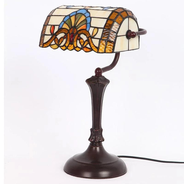 Stylish Baroque Stained Glass Table Lamps-Decorative Table Lamp-[variant_title]-Khadiza Electricals