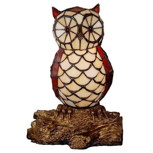 Owl Shaped Glass Night Light-Decorative Night Lamp-One-Khadiza Electricals