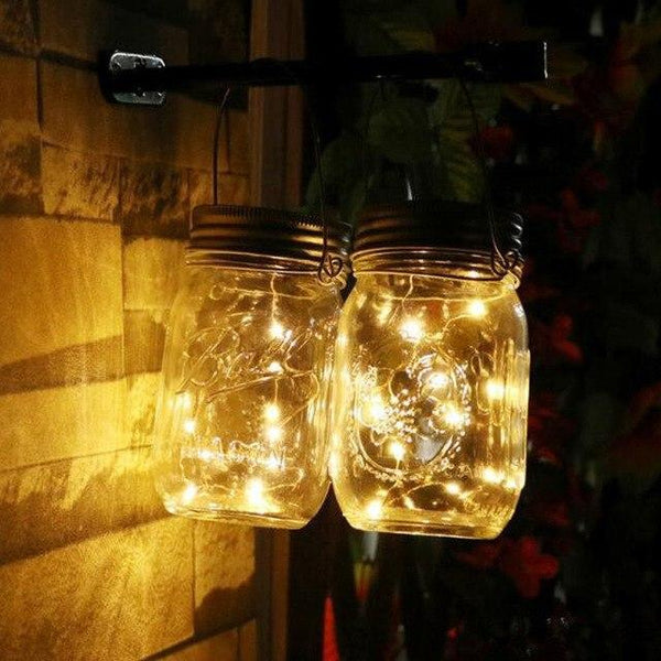 Solar Powered Fashionable LED Fairy Light For Decoration Silver