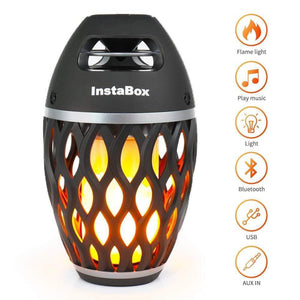 Bluetooth Speaker with Fire Flame (LED)