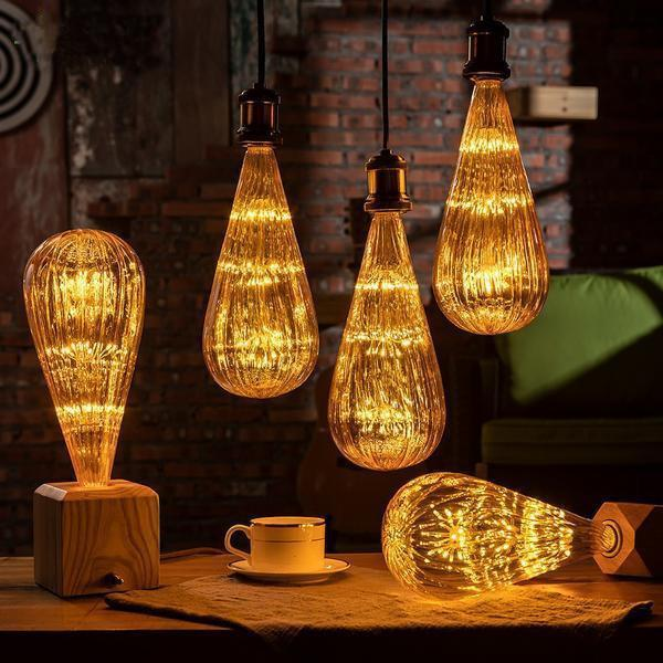 Starry Sky led lamp with Free pendant Holder (E27 Base)-Decorative Pendant Lamp-[variant_title]-Khadiza Electricals