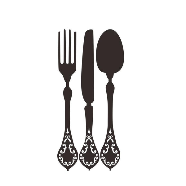 Removable Tableware Wall Stickers  for Dinning Decoration-Non Electric Home Decor-[variant_title]-Khadiza Electricals