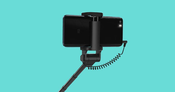 Wired Monopod Selfie Stick with Extendable Handheld Shutter-Funny But Useful-[variant_title]-Khadiza Electricals