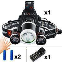 Waterproof Rotatable LED Headlamp with 4 Modes Motion Sensor-Flashlight/ Torch-[variant_title]-Khadiza Electricals