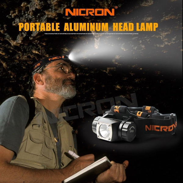 High Bright Head light made of Aluminum-Flashlight/ Torch-[variant_title]-Khadiza Electricals