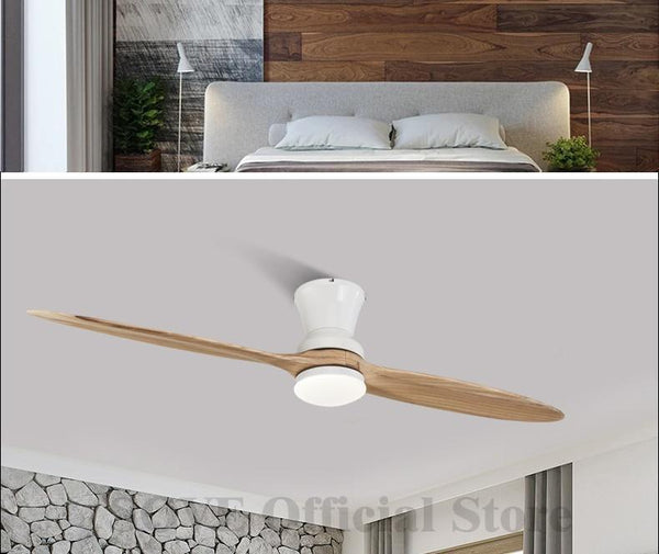 Vintage Wooden Ceiling Fan With/Without Decorative Light-Decorative Fan-[variant_title]-Khadiza Electricals