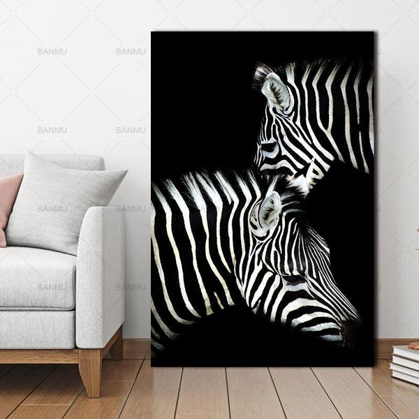 Animal canvas painting  for Home Wall decor-Non Electric Home Decor-WP0244 / 20X30cmX1PC no frame-Khadiza Electricals