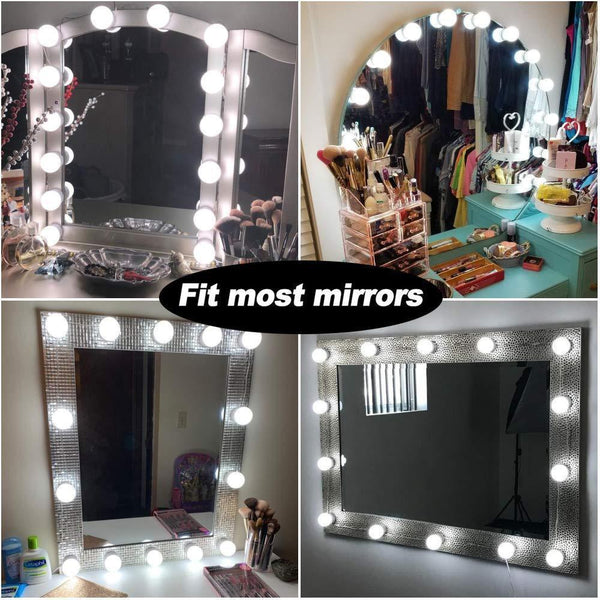 LED Vanity Mirror Lights Kit with Dim-able Light Bulbs-Other Electrical Products-[variant_title]-Khadiza Electricals