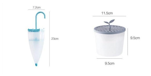 Reusable Moisture absorb-er  box for wardrobe (Umbrella / Potted plants shaped)-Funny But Useful-[variant_title]-Khadiza Electricals