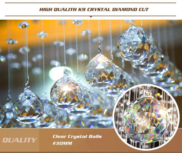 Crystal Symbol of Luxury Ceiling Chandeliers Lamp-Decorative Chandelier-[variant_title]-Khadiza Electricals
