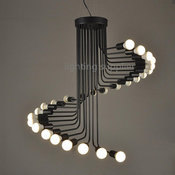 American Styled Retro Staircase Pendant Light-Decorative Pendant Lamp-[variant_title]-Khadiza Electricals