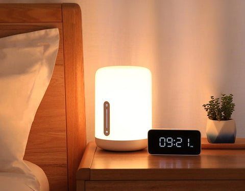 Smart app  controlled Smart Night Lamp with voice and Touch Control bedside lamp 2