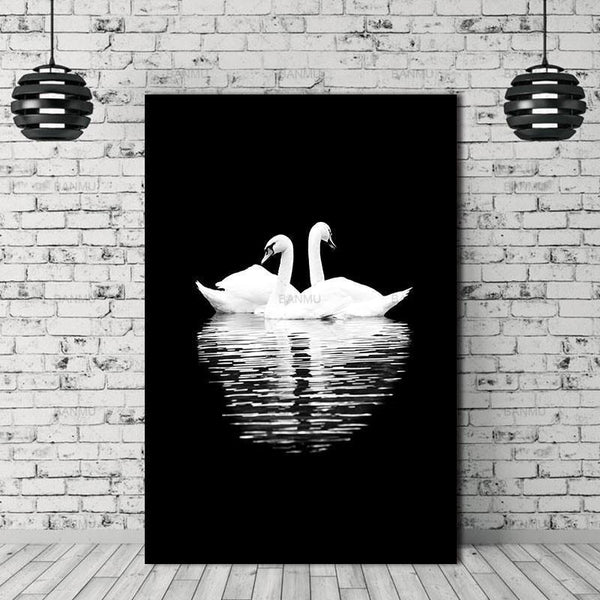 Animal canvas painting  for Home Wall decor-Non Electric Home Decor-WP0243 / 20X30cmX1PC no frame-Khadiza Electricals