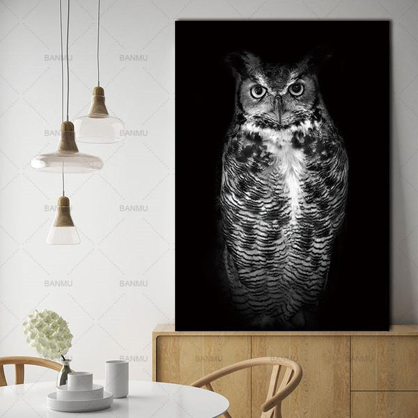 Animal canvas painting  for Home Wall decor-Non Electric Home Decor-WP0248 / 20X30cmX1PC no frame-Khadiza Electricals