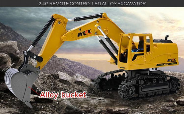 Remote Controlled excavator toys with Music and light-Toy-[variant_title]-Khadiza Electricals