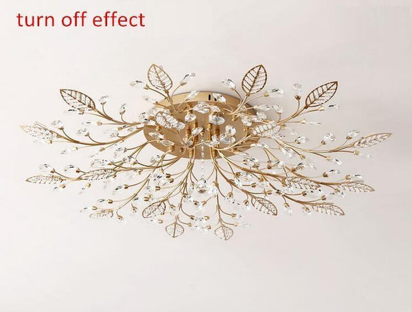European Styled Luxurious Crystal Ceiling Chandelier-Decorative Chandelier-[variant_title]-Khadiza Electricals