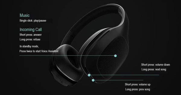 Bluetooth Wireless Headphone-DJ Lights & Sound-[variant_title]-Khadiza Electricals