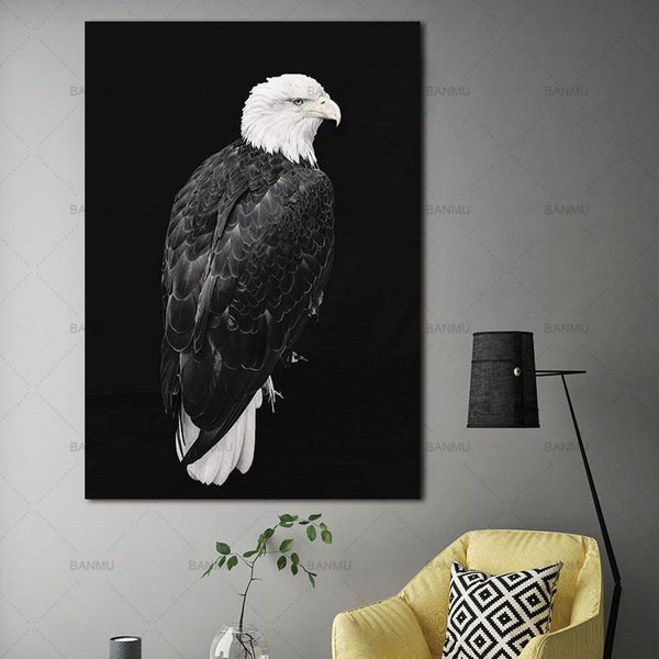 Animal canvas painting  for Home Wall decor-Non Electric Home Decor-WP0249 / 20X30cmX1PC no frame-Khadiza Electricals
