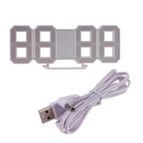 USB Digital Table/ Wall Clock-Other Electrical Products-[variant_title]-Khadiza Electricals