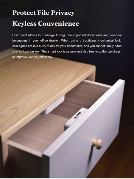 Keyless Smart Drawer Cabinet Lock, Bluetooth APP Controlled-Other Electrical Products-[variant_title]-Khadiza Electricals