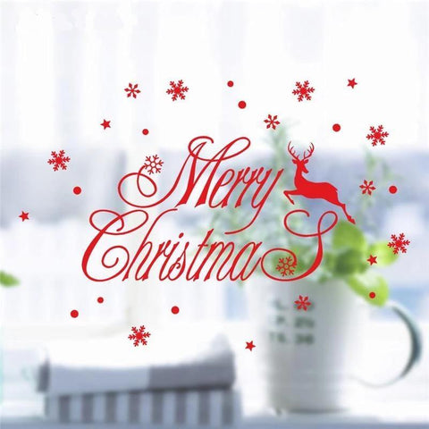 Wall Stickers for Christmas Decoration